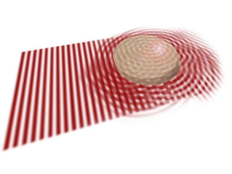Novel material design for undistorted light waves