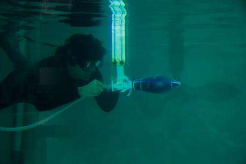 Octopus-inspired robot – the fastest underwater robot based on the given power – developed in Singapore