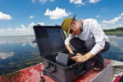 One fish, two fish ─ Camera counts freshwater fish, which could help combat hydrilla