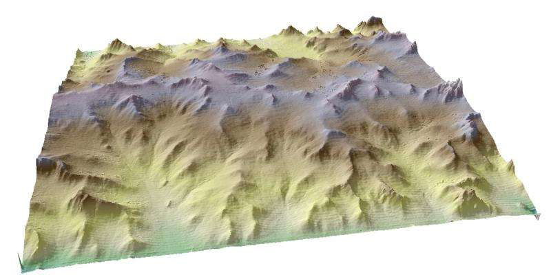 Oregon experiments open window on landscape formation