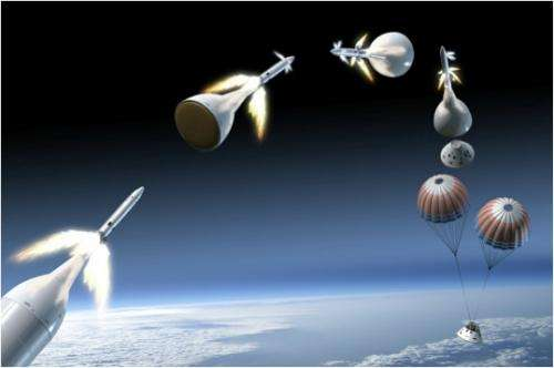 Orion's launch abort system motor exceeds expectations
