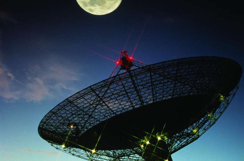 Parkes telescope takes on the Roger Federer of space