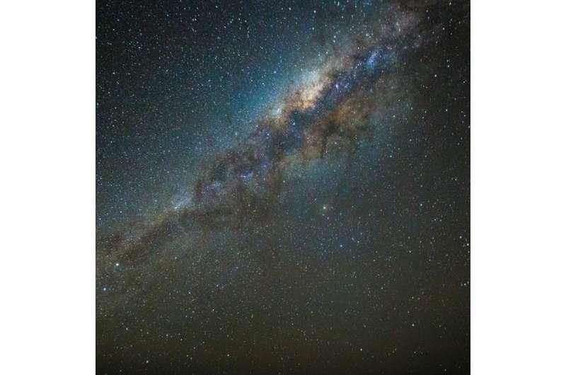 Peeking into our galaxy's stellar nursery