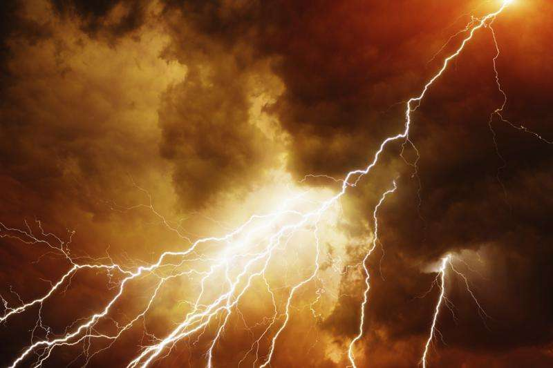 Physicist finds mysterious anti-electron clouds inside thunderstorm