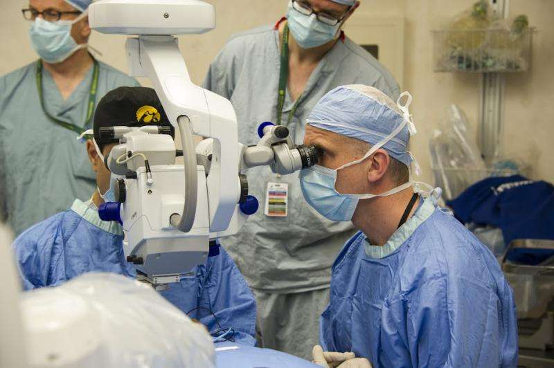 Pioneering gene therapy takes aim at inherited blindness