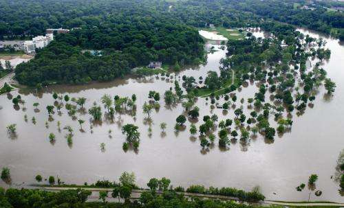 Predicting the extent of flash flooding