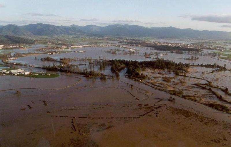 Proposed floodplain restoration reduces flood risk and restores salmon habitat