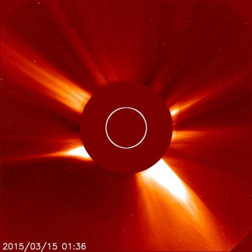 Protecting Earth from space weather