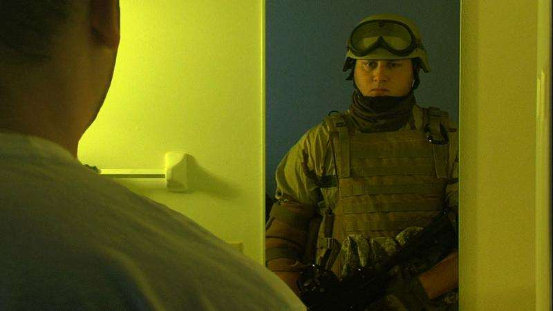 PTSD soldiers more likely to see a world full of threat