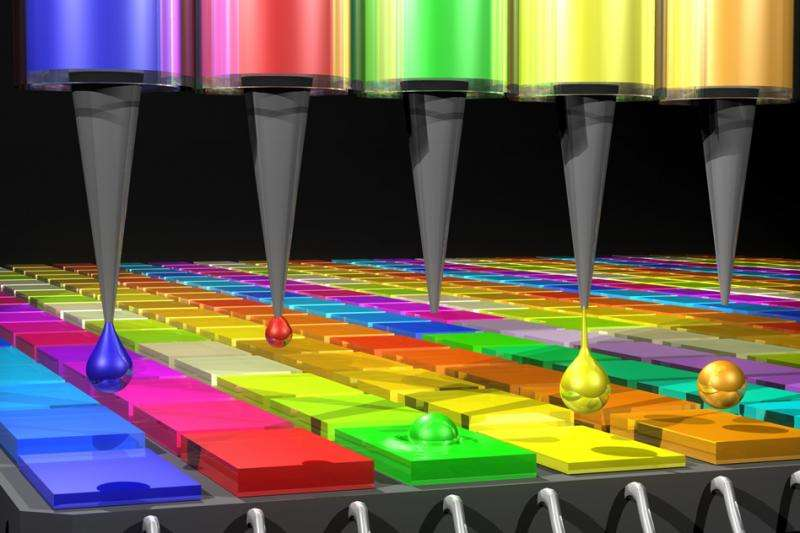 Quantum-dot spectrometer is small enough to function within a smartphone