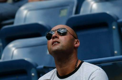 Retired New York Yankees star Derek Jeter, pictured September 1, 2015, launched The Players' Tribune in October 2014