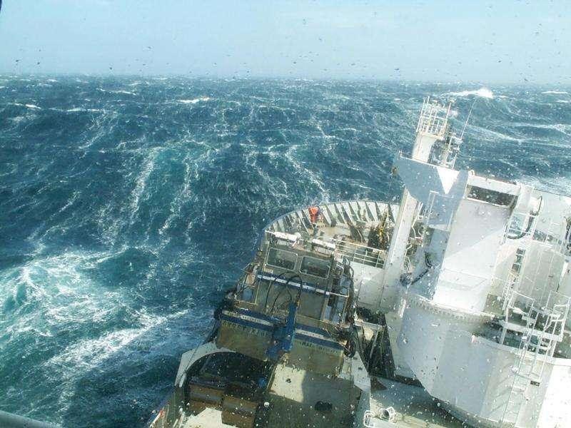 Revived oceanic CO2 uptake