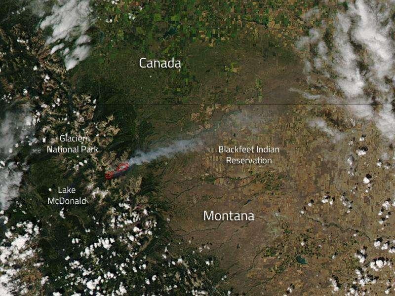 Reynolds Creek Fire, Montana