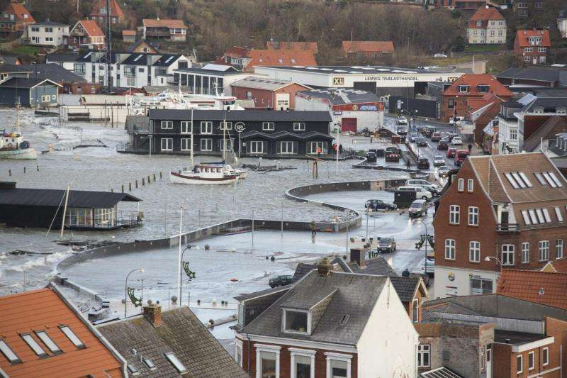 Risk of major sea level rise in Northern Europe