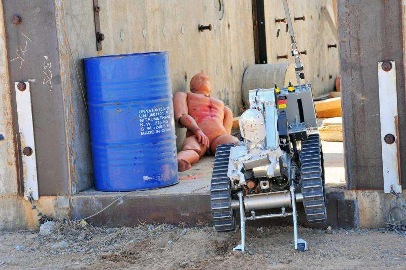 Robot Rodeo at Sandia Labs showcases bomb squad expertise