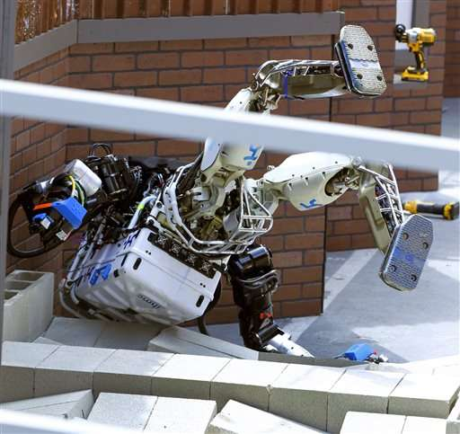 Robots compete in response to California disaster simulation