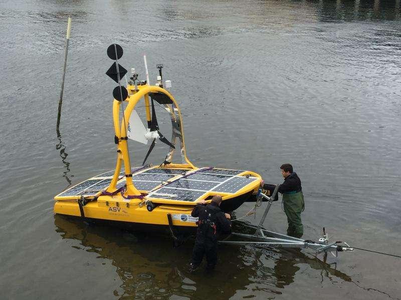 Robot technology to measure UK's marine wildlife