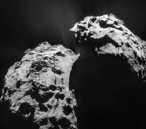 Rosetta swoops in for a close encounter