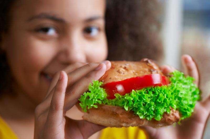 School-grown vegetables increase salad selection
