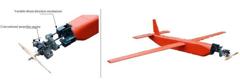 Scientists variable vectoring technique for propeller powered unmanned aerial vehicles