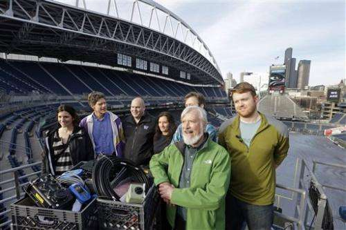 Seahawks game will be site of earthquake experiment (Update)
