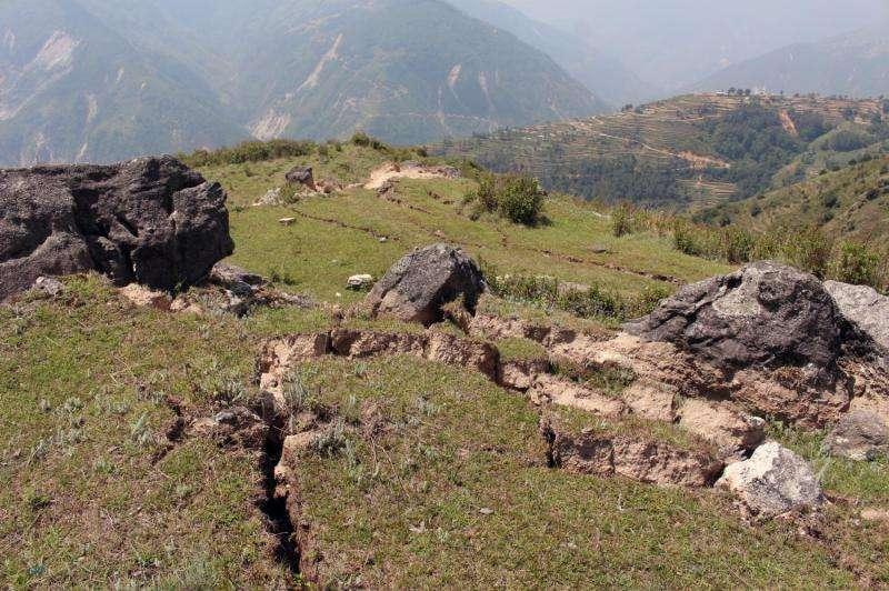 Self-healing landscape: Landslides after earthquakes