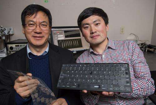 Self-powered intelligent keyboard could provide a new layer of security