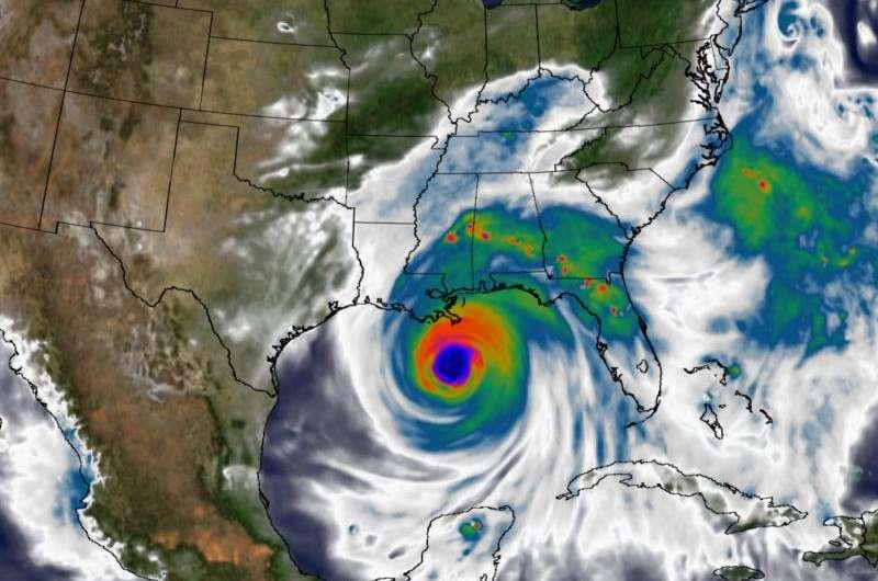 Since Katrina: NASA advances storm models, science
