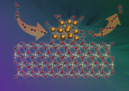 Single ion shuttles the critical electron in fuel cell CO conversion