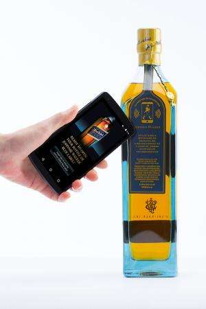 Smart bottles make use of printed sensor tags
