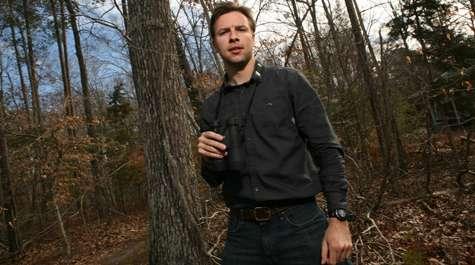 Stalking the sweet-singing, reclusive wood thrush