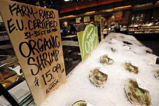 Standards for organic seafood coming this year, USDA says