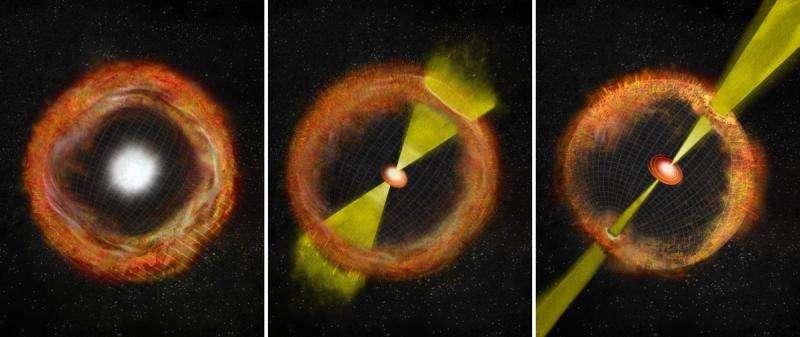 Strange supernova is 'missing link' in gamma-ray burst connection