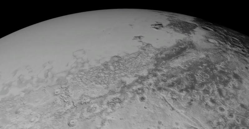 Stunning new Pluto aerial tour
