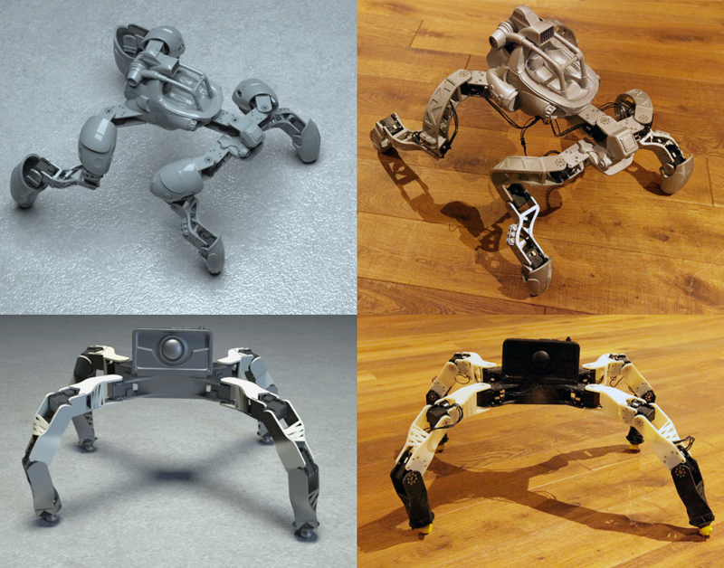 System helps novices design 3-D-printable robotic creatures