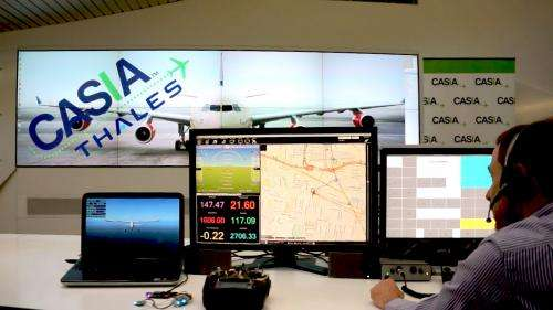 Talking drone offers aviation safety boost