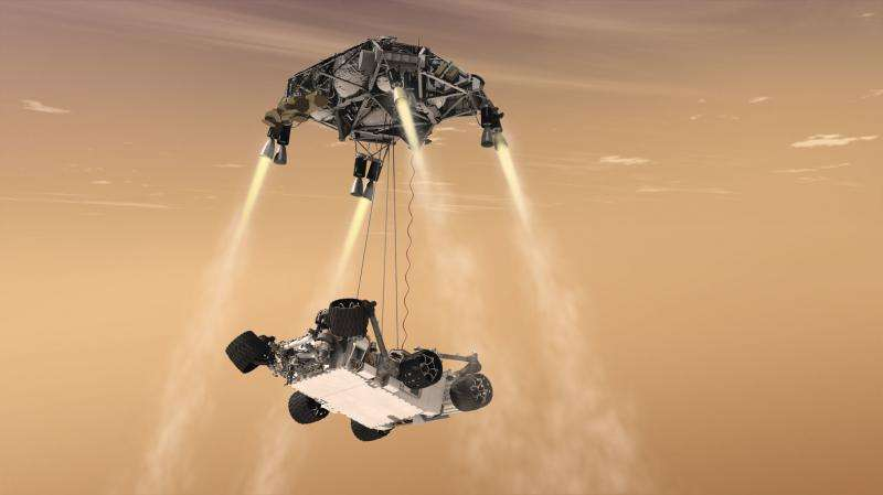 Talking to Mars—new antenna design will aid interplanetary communication