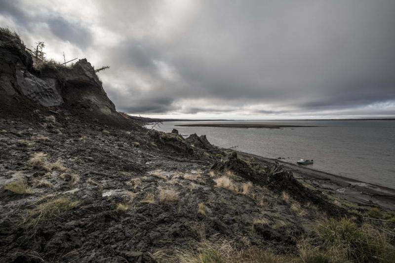 Thawing permafrost feeds climate change