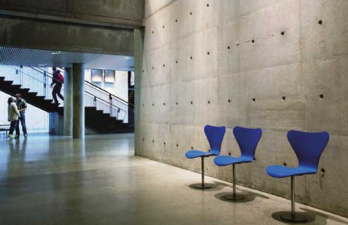 The aesthetic appearance of concrete is controversial
