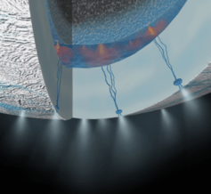 The chemistry that could feed life within Saturn's moon Enceladus: study gives clue ahead of flyby