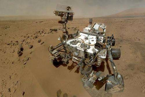 The Curiosity robot confirms methane in Mars' atmosphere which may hint that existed life