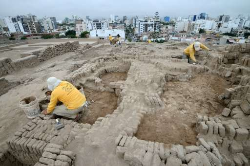 The find confirms the historical presence in Lima of the Ichma culture which took hold on the central coast around 1000 and disa