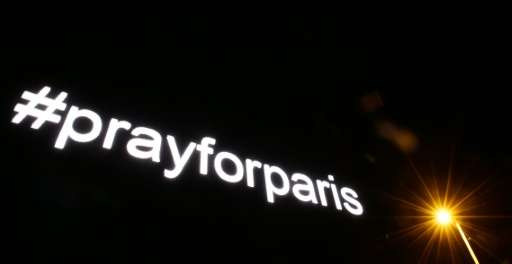 The hashtags #PrayforParis and #JeSuisCharlie were among the top 10 news trends cited by Twitter for 2015