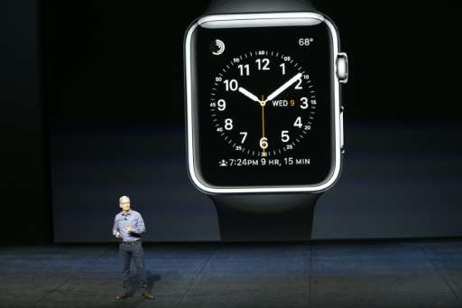The market for wearable tech, led by Apple Watch, is booming