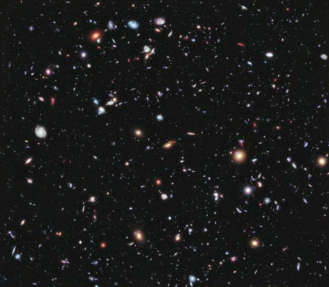 The mysterious dark energy that speeds the universe's rate of expansion