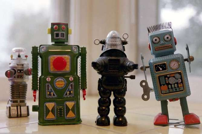 The potential for robots to perform human jobs