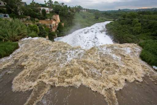 The river has also had to swallow sewage from some 10 municipalities surrounding Guadalajara, Mexico's second biggest city.