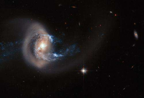 The tell-tale signs of a galactic merger