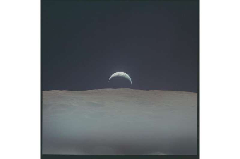 Thousands of Photos by Apollo Astronauts now on Flickr