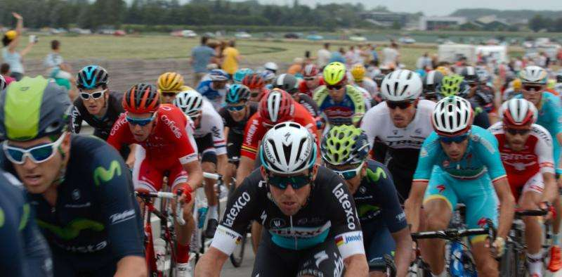 Timing is everything in Tour de France sprints